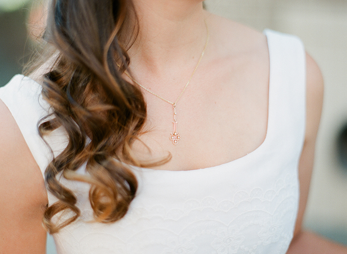 heirloom necklace | Blueberry Creative | Glamour & Grace