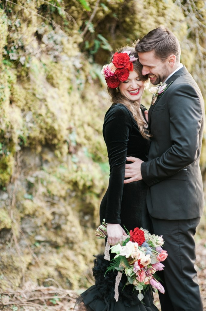 romantic glam engagement   Christa-Taylor Photography   Glamour & Grace