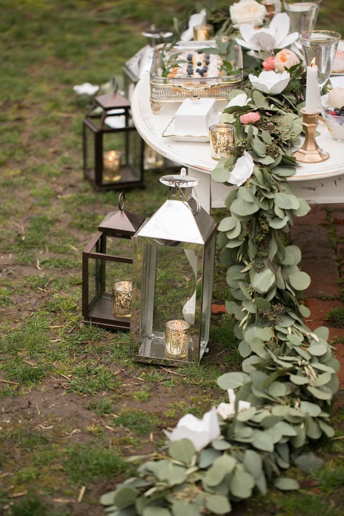 secret garden wedding inspiration | V.A. Photography | Glamour & Grace