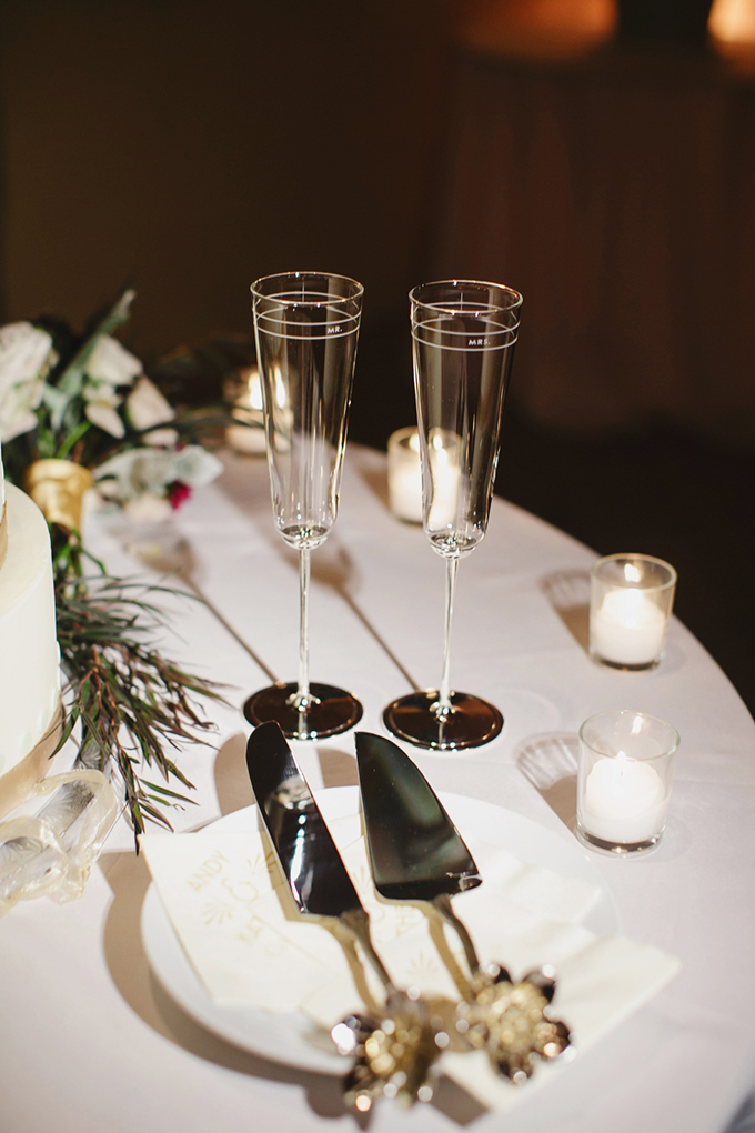 Mr and Mrs flutes | Greer G Photography | Glamour & Grace