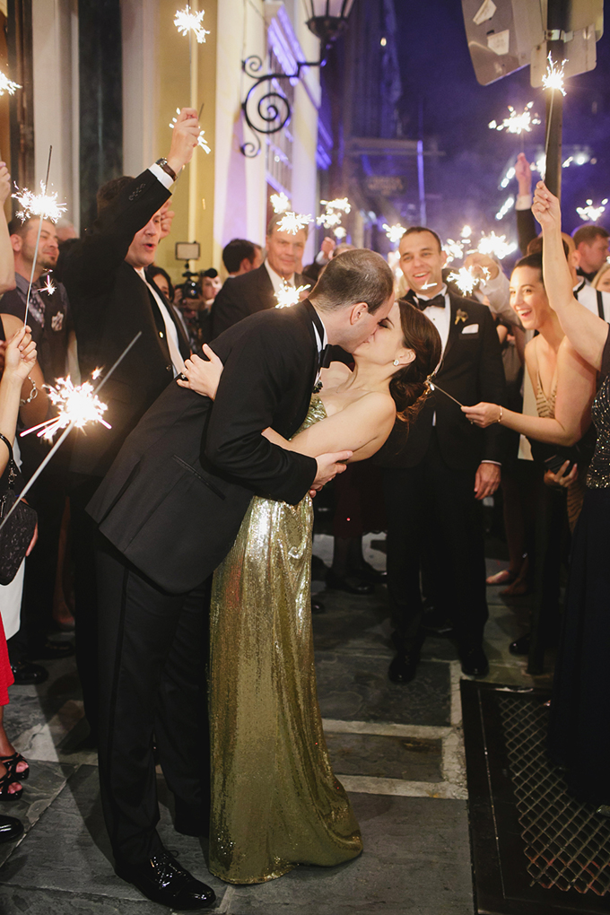 vintage glam New Orleans wedding | Greer G Photography | Glamour & Grace