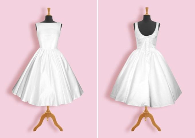 Audrey Hepburn wedding dress   Honeypie Boutique