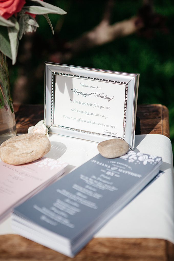 unplugged ceremony | melissa maureen photography | Glamour & Grace