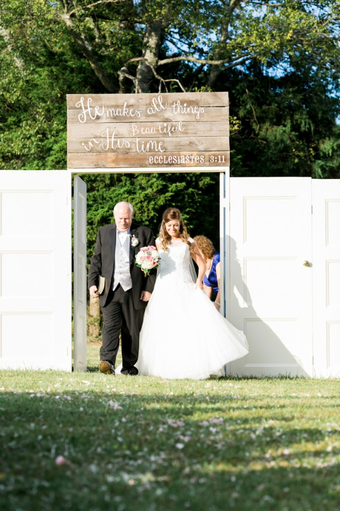 ceremony doors | Amy Nicole Photography | Glamour & Grace
