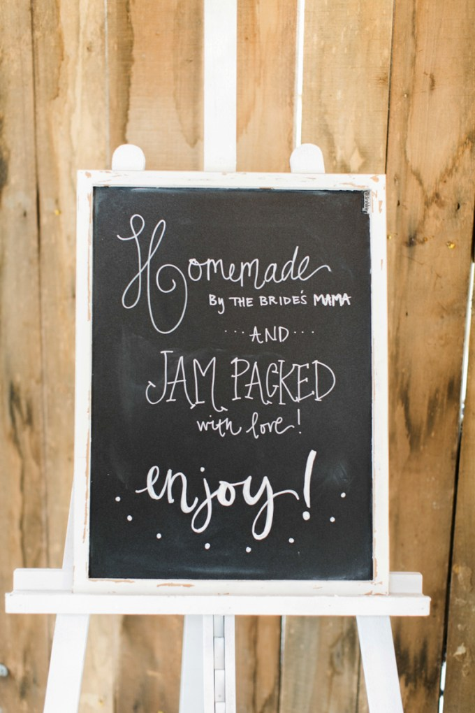homemade jam favors | Amy Nicole Photography | Glamour & Grace