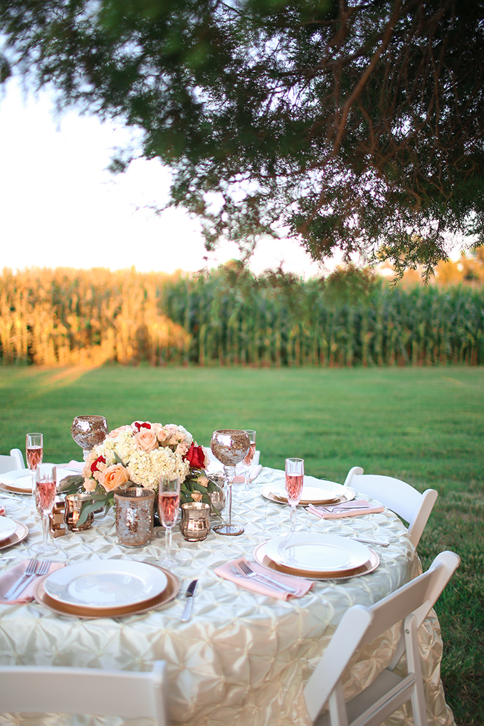 late summer cherry wedding inspiration | Andrew & Tianna | Glamour & Grace