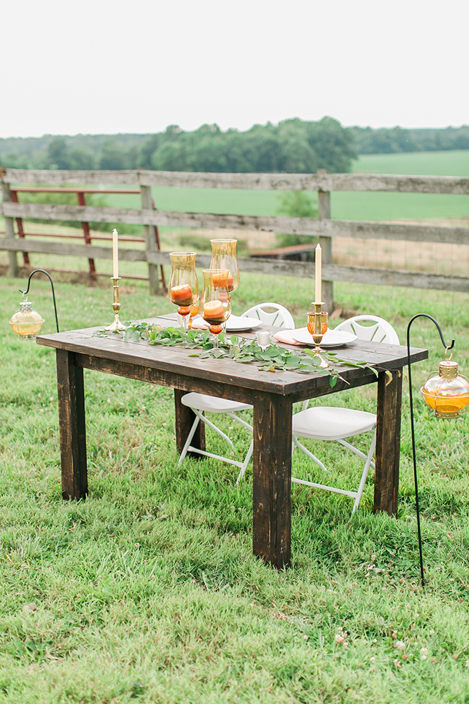 sweetheart table | Kirstyn Marie Photography | Glamour & Grace