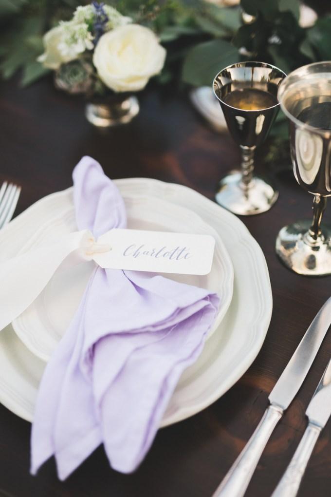 romantic lavender wedding inspiration | Victoria Selman Photographer | Glamour & Grace
