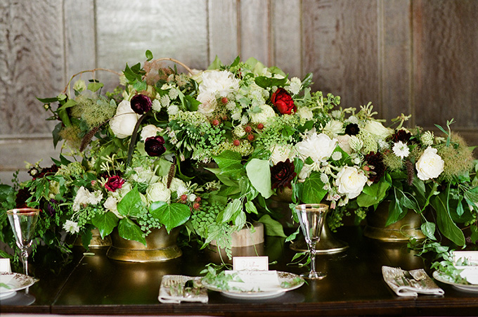 romantic manor wedding inspiration | Kate Preftakes Photography | Glamour & Grace