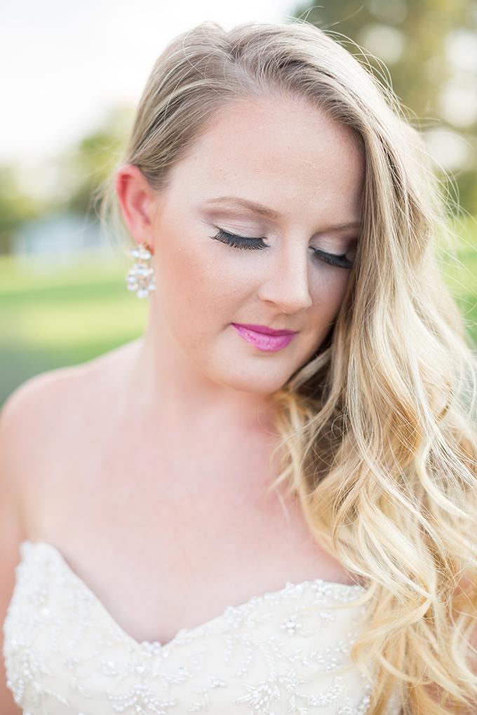 pink lip | Samantha Laffoon Photography | Glamour & Grace