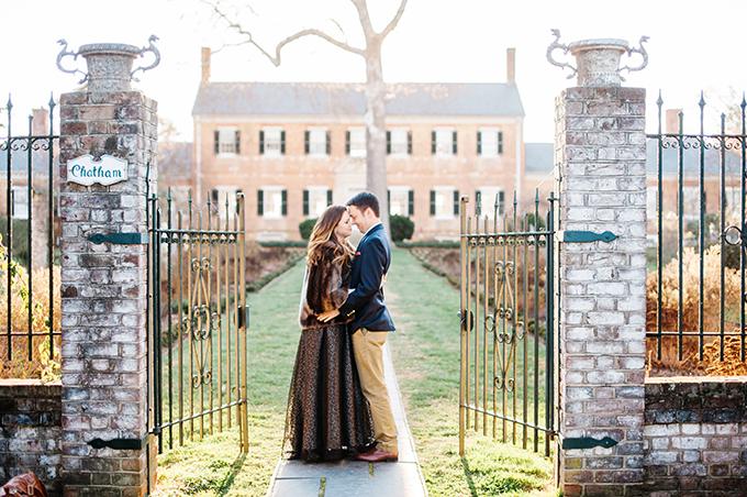 elegant manor engagement | Sarah Houston Photography | Glamour & Grace