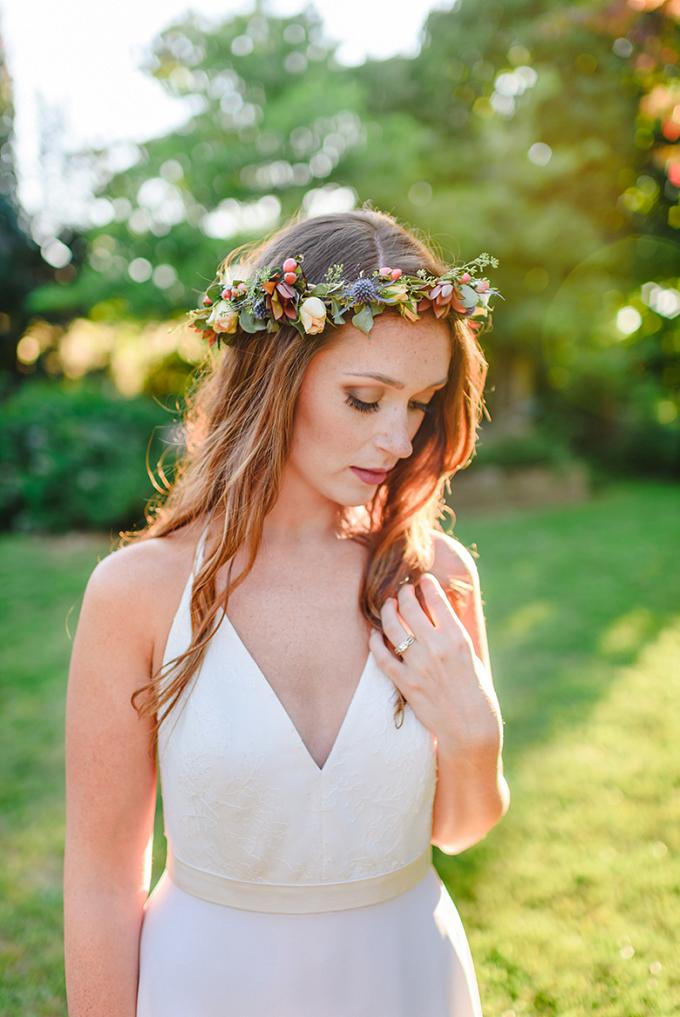 romantic boho portraits | Brittney Nestle Photo | Glamour & Grace