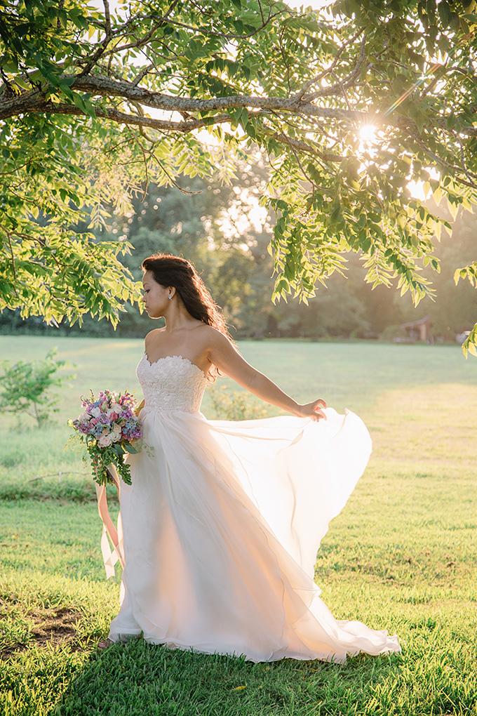 romantic bridal portraits | Echard Wheeler Photography | Glamour & Grace