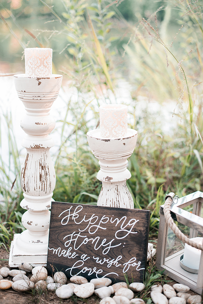 skipping stones | Kimberly Florence Photography | Glamour & Grace