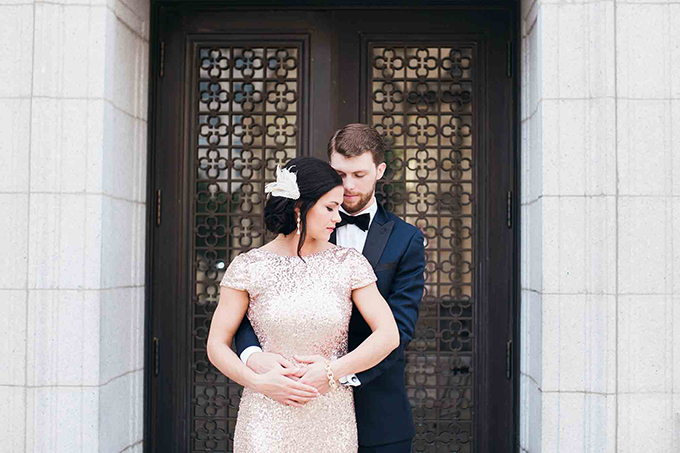 vintage glam wedding inspiration | Erin Stubblefield Weddings and Portraiture | Glamour & Grace