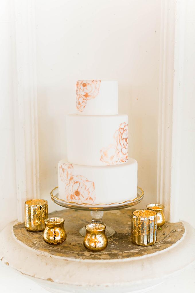 floral cake | Emilia Jane Photography | Glamour & Grace