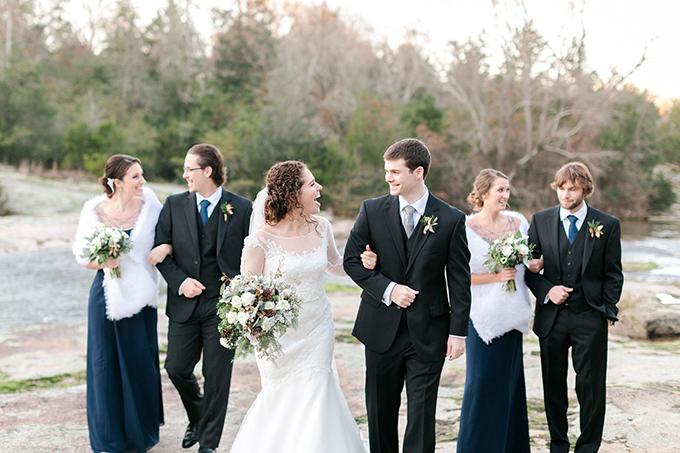 cozy winter wedding | Karen Allen Photography | Glamour & Grace