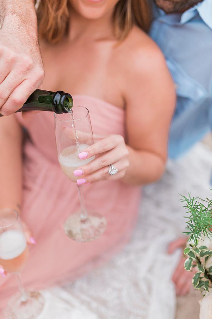 dreamy lake engagement | Chrissy Noel Photography | Glamour & Grace