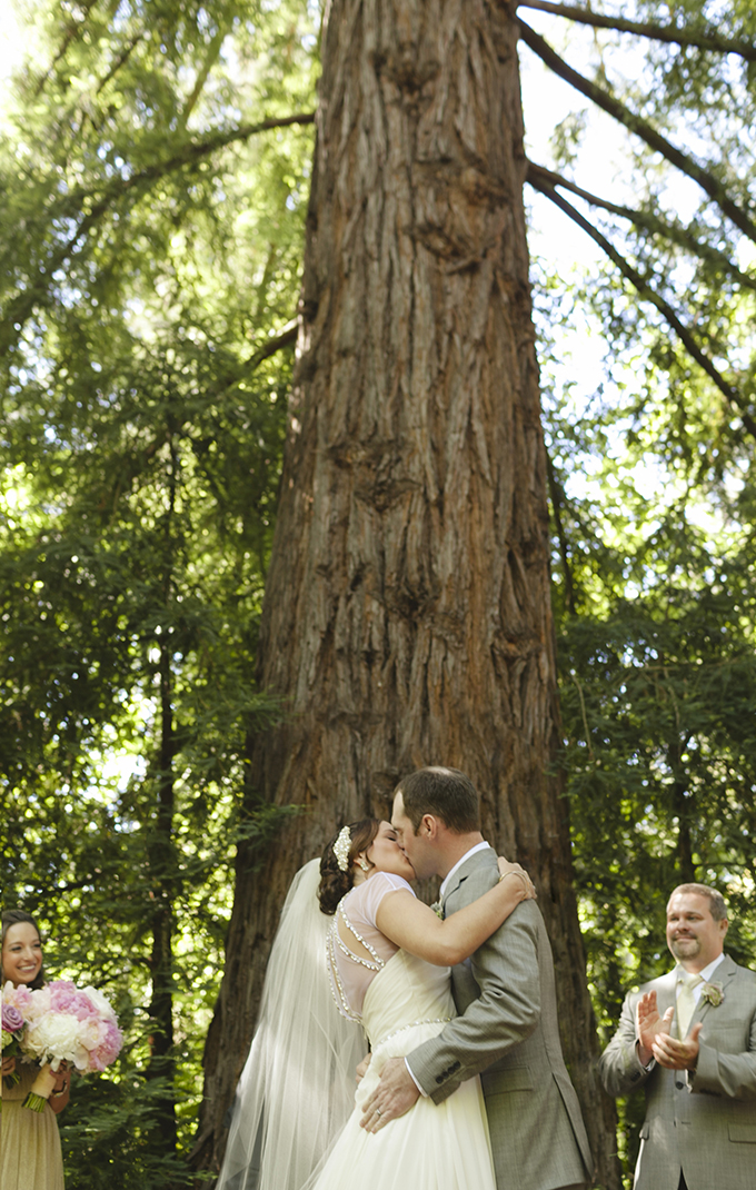 romantic forest wedding | Heather Elizabeth Photography | Glamour & Grace