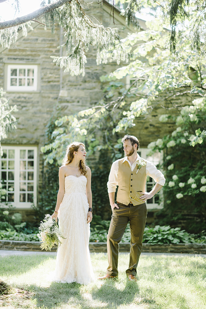 DIY woodland wedding | Alicia King Photography | Glamour & Grace