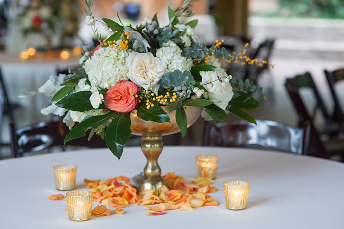 fall garden wedding   Alisha Crossley Photography   Glamour & Grace