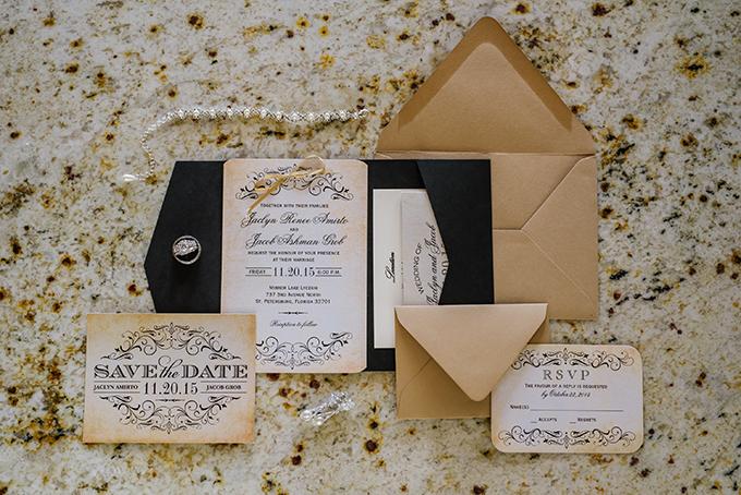 vintage glam Florida wedding | Ashlee Hamon Photography | Glamour & Grace
