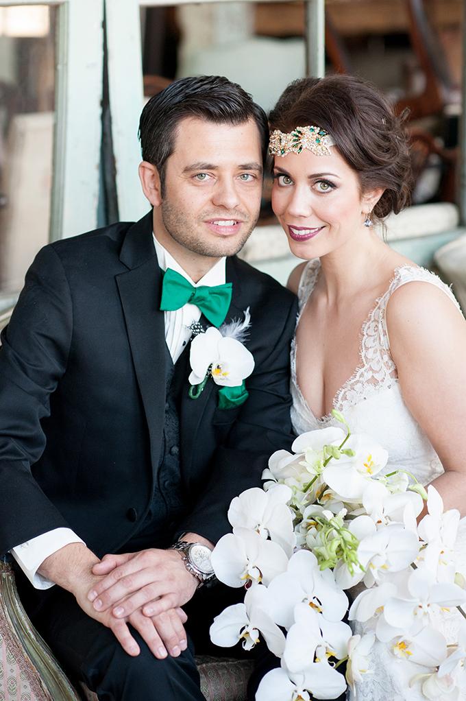 New York art deco wedding | Mikkel Paige Photography | Glamour & Grace