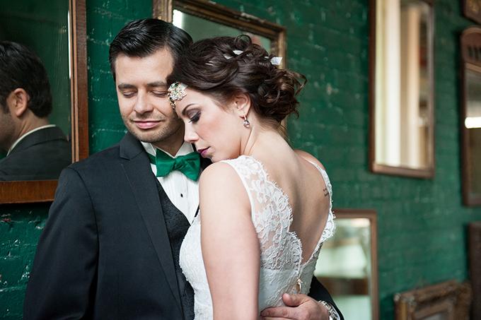 New York art deco wedding   Mikkel Paige Photography   Glamour & Grace