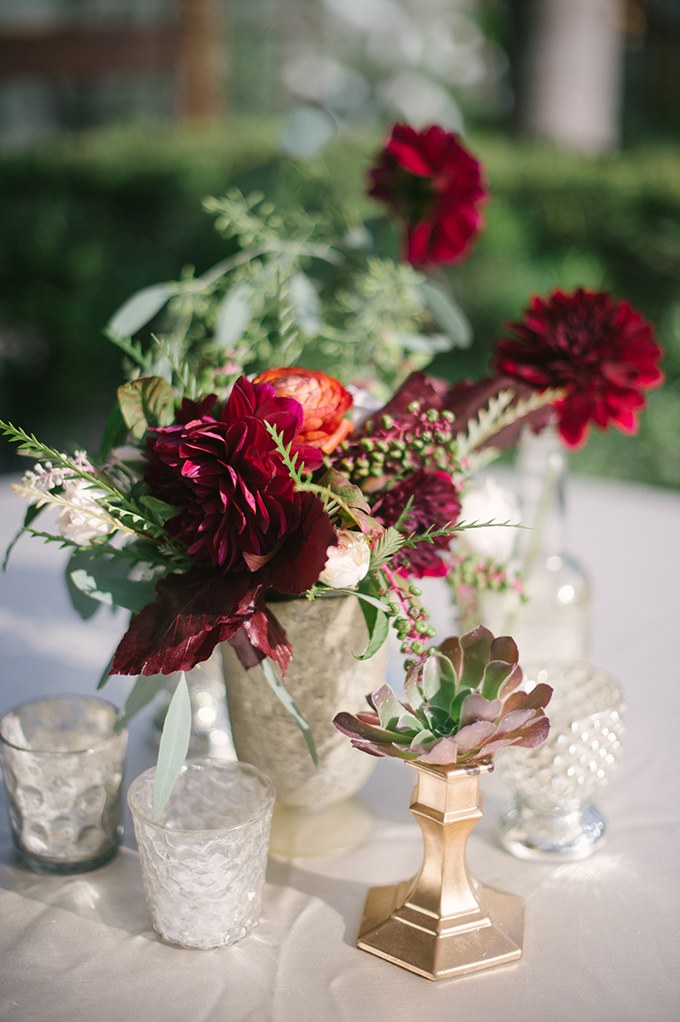 eclectic centerpieces | Lauren Carroll Photography | Glamour & Grace