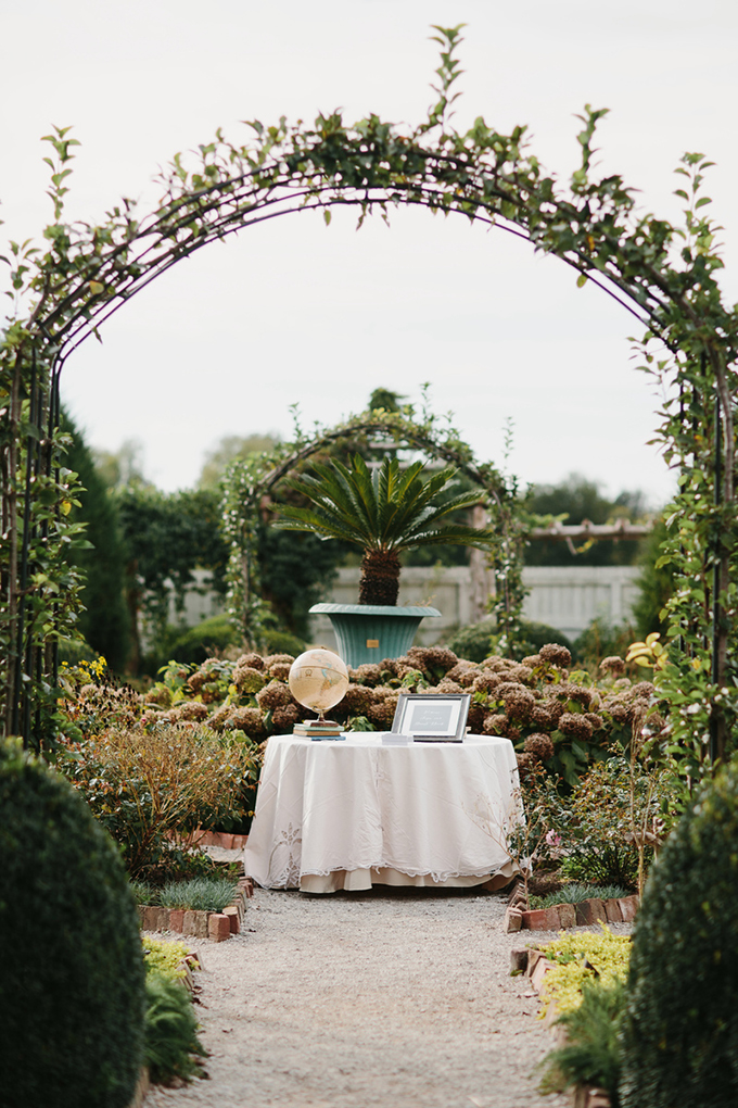romantic garden wedding | Q Avenue | Glamour & Grace