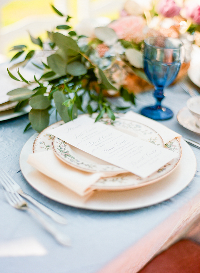 Florida vintage garden wedding inspiration | Emily Katharine Photography | Glamour & Grace