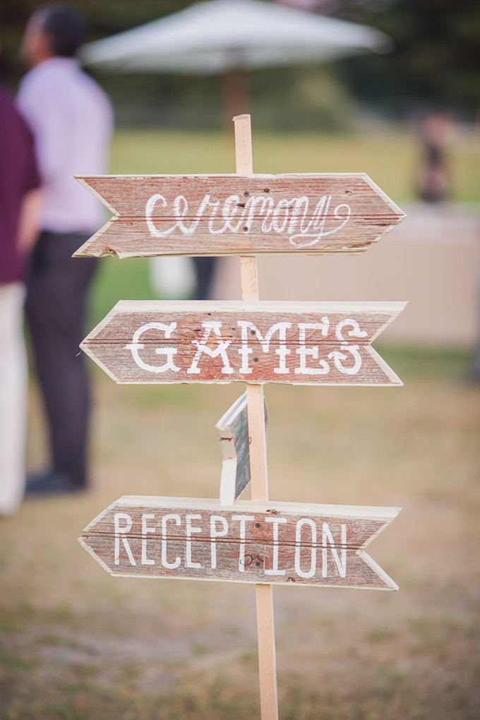 ceremony signage | Jaclyn Schmitz Photography | Glamour & Grace