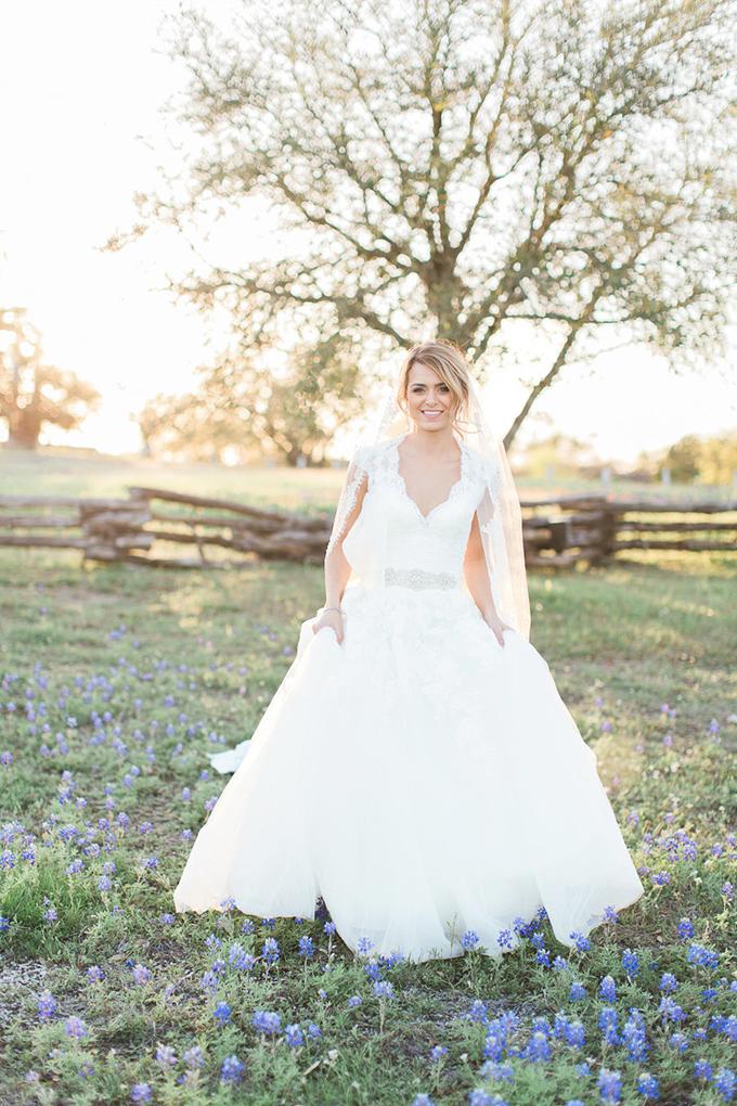 garden bridal session | Kristina Ross Photography | Glamour & Grace