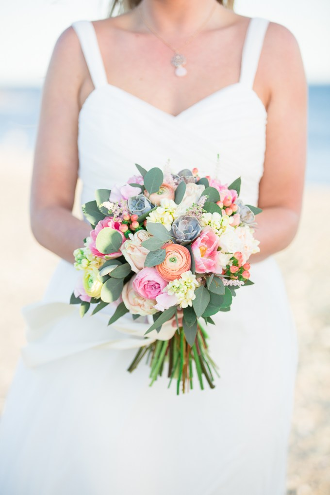 pink and yellow bouquet | Kristina Staal Photography | Glamour & Grace