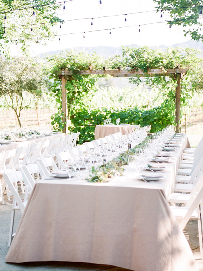 romantic Napa wedding | White Ivory Photography | Glamour & Grace