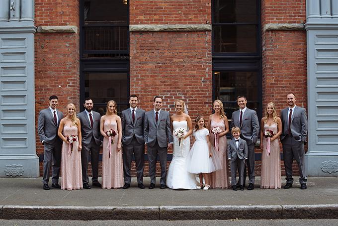 blush and wine wedding | Shane Macomber | Glamour & Grace-17