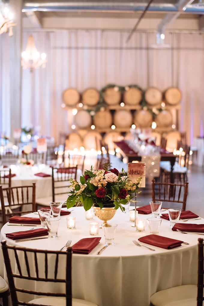 blush and wine wedding | Shane Macomber | Glamour & Grace-33