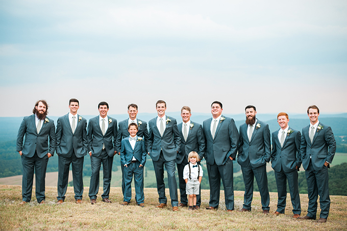 elegant cliffside Southern wedding | Cotton & Clover Photography | Glamour & Grace-14