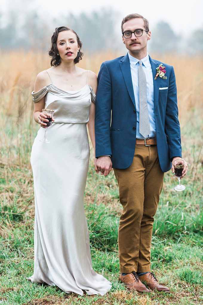 romantic fall wedding inspiration | Koral Bleu Photography | Glamour & Grace