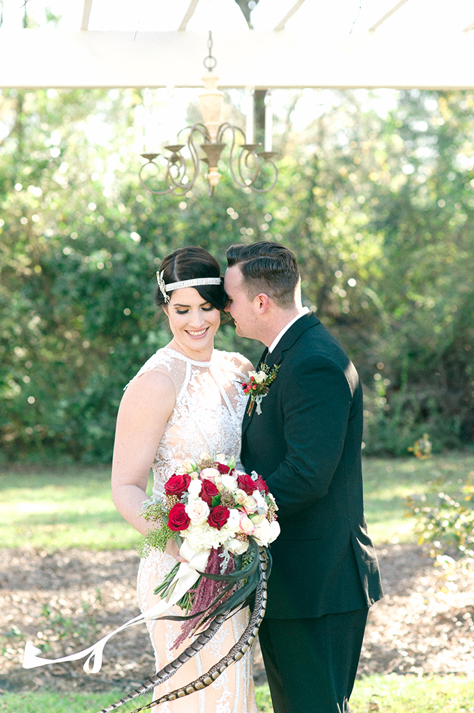 elegant 1920's wedding inspiration | C. Hope Photography | Glamour & Grace