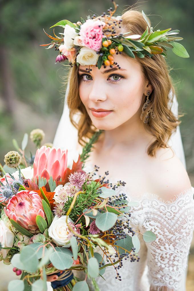 dreamy mountain bridal session | Hazel & Lace Photography | Glamour & Grace-14