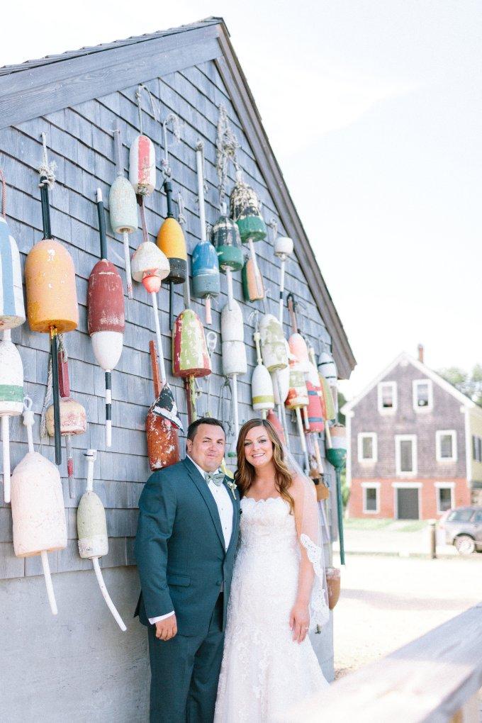 romantic greenery coastal wedding | Lex Nelson Photography | Glamour & Grace-15