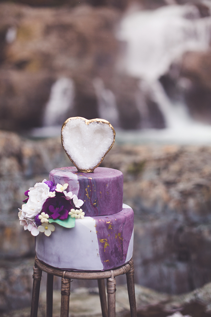 whimsical waterfall elopement | Chelsea Dawn Photography & Makeup Artistry | Glamour & Grace-15