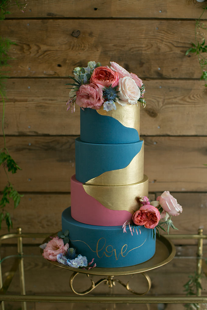 pastel farm wedding inspiration | Erin Johnson Photography | Glamour & Grace-16
