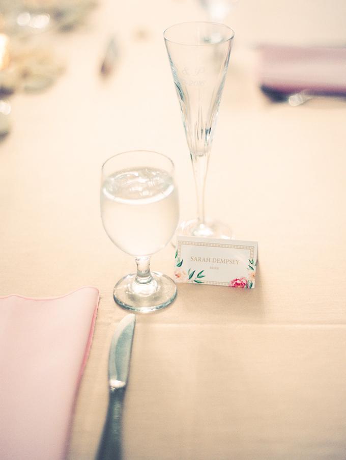 romantic candlelit wedding | Ashley Crawford Photography | Glamour & Grace-28
