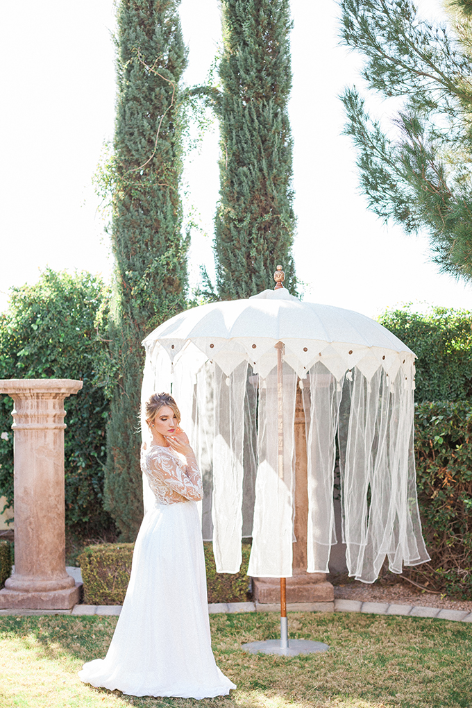 romantic garden wedding inspiration | April Maura Photography | Glamour & Grace-11