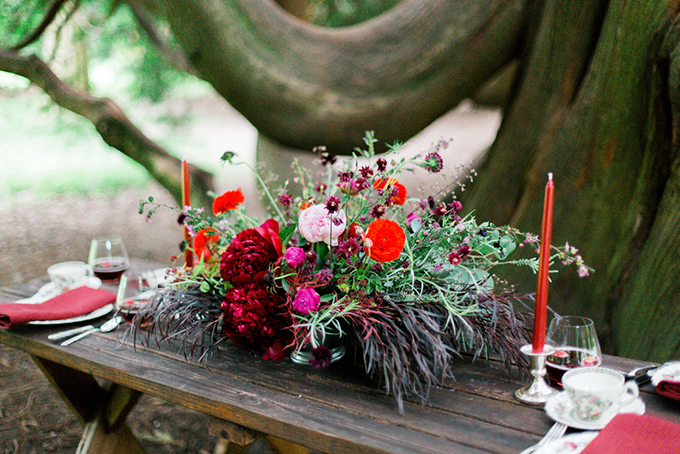red heirloom wedding inspiration | Aura May Photography | Glamour & Grace-08