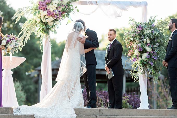 purple Texas garden wedding   Arden Prucha Photography   Glamour & Grace