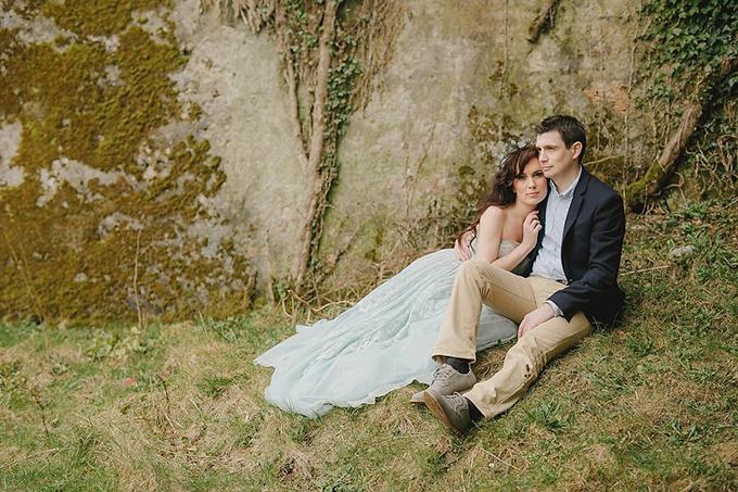 romantic Ireland portraits | Kristen Booth Photography | Glamour & Grace