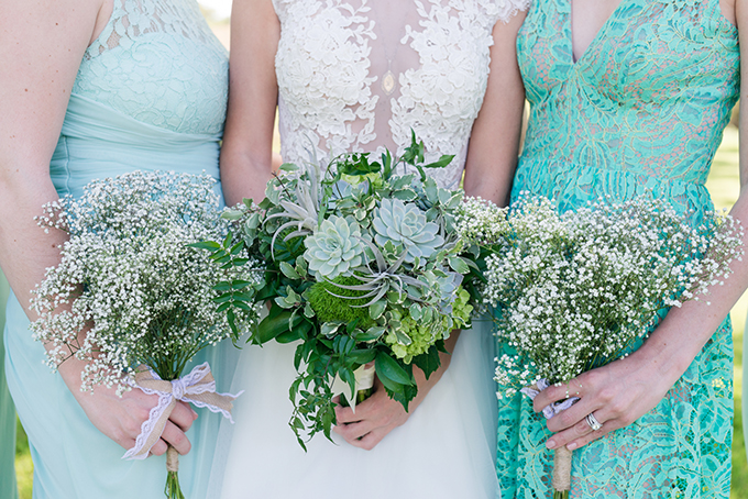 vintage mint wedding | Eureka Photography | Glamour & Grace